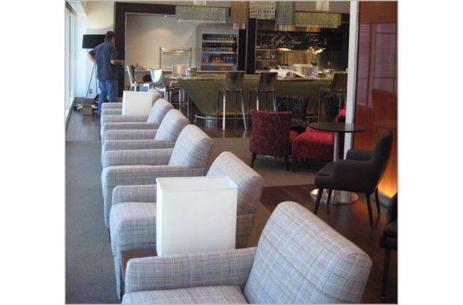 Airport Lounge, First Class Custom Made Chairs