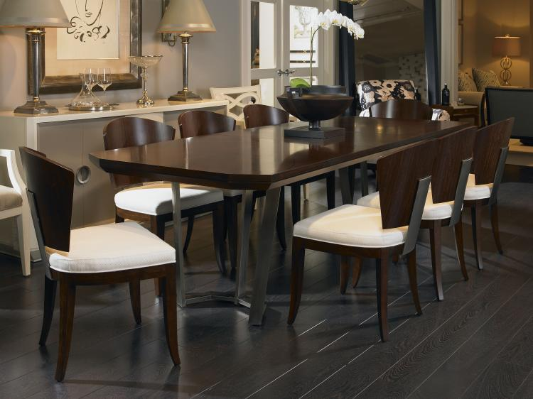 419 303 guardian dining table with metal base