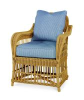 AE D40 54 NT Mainland Wicker Large Dining Arm Chair